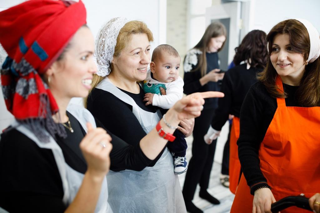 Еврейский женский клуб. Традиция, общение, ТОРА, кулинарные мастер-классы