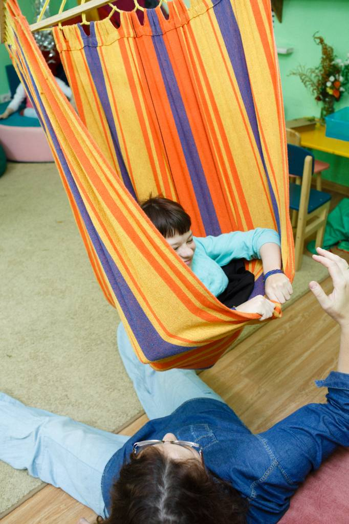 Адаптивная физкультура, занятия для особых детей. Водный стадион