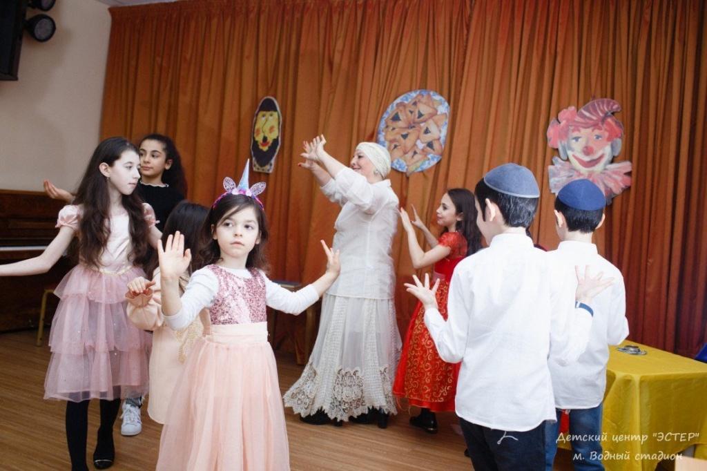 Еврейский танец, занятия для детей