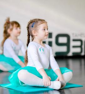 Ритмика для детей, занятия танцами