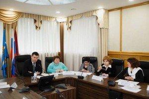 Круглый стол по межнациональным отношениям в Москве.