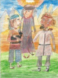 Яаков, Ривка и Эсаав