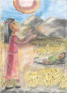 История о том, как непросто было Агари в пустыне с Ишмаэлем