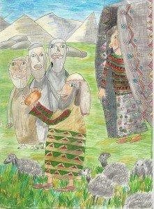 Ангелы у Авраама
