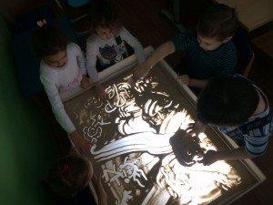 арт-терапия рисунки на песке