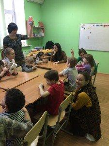 """Занятия группы для особых детей """"Недирективная игра"""" в центре ЭСТЕР"""