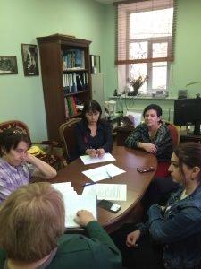 Обучение волонтеров культурных программ»