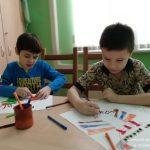 Инклюзивные группы, особые дети, занятия арт-терапией для обычных детей. САО, Водный стадион, Москва