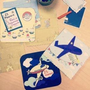 Детский мастер-класс по открыткам к 23 февраля