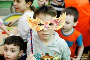 Детский мастер-класс по карнавальным маскам к Пуриму, ЭСТЕР, САО, Москва