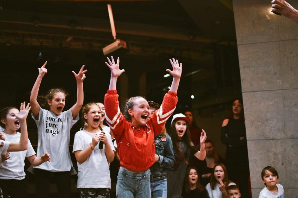 Победа на соревнованиях по современным танцам. Занятия современной хореографией для детей. Москва. САО, Водный стадион