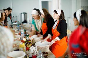 Кулинарный мастер-класс по еврейской кухне, выпечка халы. Община Маген Давид, САО, метро Водный стадион, Москва.